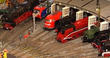 roundhouse trains HO scale