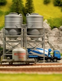 industry trackside model railroad