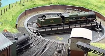 turntable n scale trains